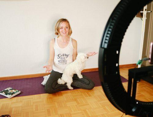 Corona-Notfallplan: Yoga und Coaching ganz einfach online anbieten