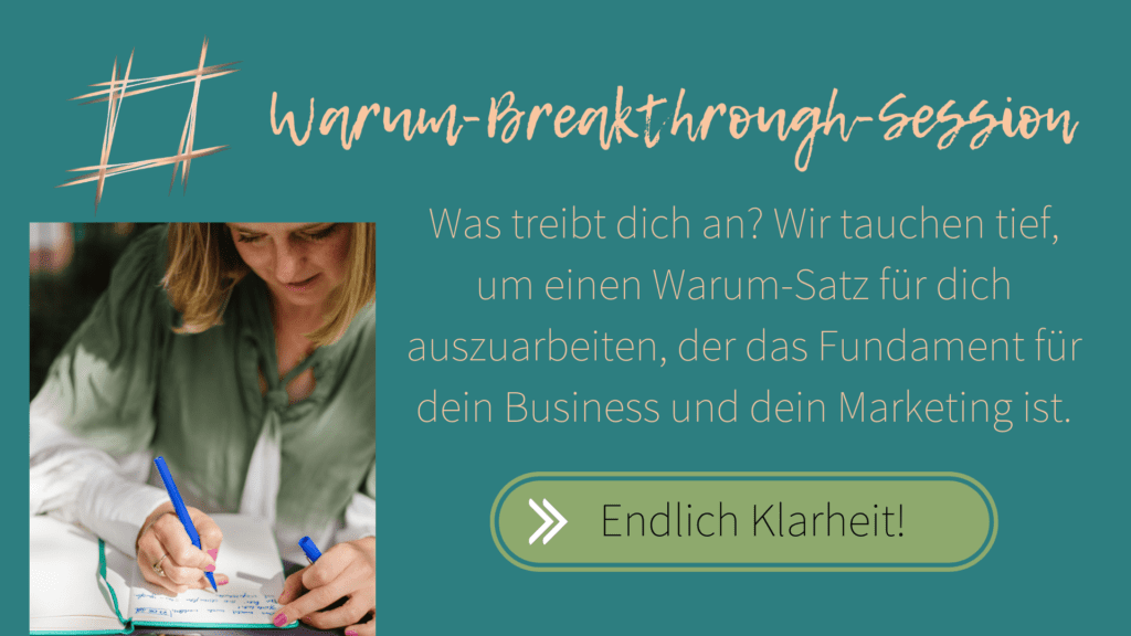 Warum Breakthrough Session
